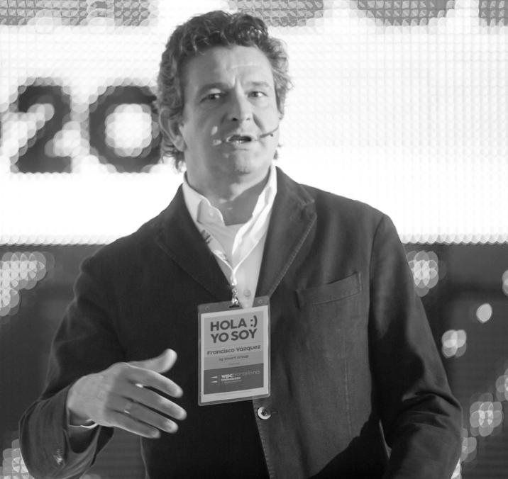 Francisco Vázquez participará en la Conference ProWorkSpaces  con 'El día que perdí mi mesa'