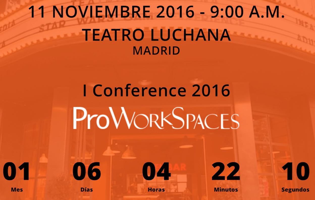 ¡Corre y reserva tu espacio en la I Conference de ProWorkSpaces con la obra de teatro Runners!