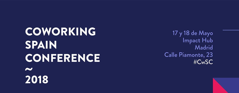 ProWorkSpaces colabora en la Coworking Spain Conference 2018
